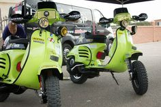 Modern Vespa : how to make a PX200 an off road machine