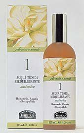 Helan Normal and Combination Skin Rebalancing Tonic Water - Alcohol Free with Witch Hazel, Rhatany and Cabbage Rose by Helan Normal to Combination. $16.00. Imported from Italy. Never Tested On Animals. SLS and SLES Free. Preservative Free. Fair Trade Ingredients. This toner completes the action of Helan's Rebalancing Cleansing Gel, restoring tone and glow. The Witch Hazel, Rhatany root and Cabbage rose extracts have a mildly astringent effect to help normalize enlarged p...