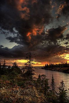 Amygdaloid Island, Isle Royale National Park, Michigan; photo by Carl TerHaar
