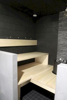 Cozy Sauna Shower Combo Decorating Ideas – Home inspiring – – Ley Straker – japanesetubs Spa Rooms, House Rooms, Building A Sauna, Massage Room Decor, Sauna Shower, Portable Sauna, Japanese Bathroom, Sauna Design, Finnish Sauna