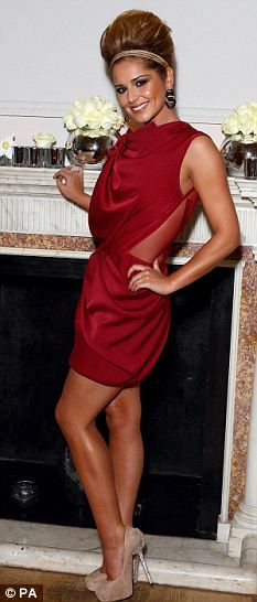 Cheryl Cole don't like hair