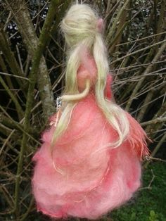 Wool fairy inspired Waldorf Paris