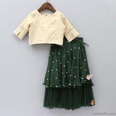 Little Girl Skirts, Dresses Kids Girl, Kids Outfits, Kids Dress Wear, Kids Gown, Kids Wear, Kids Indian Wear, Kids Ethnic Wear, Kids Frocks Design
