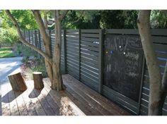 SO GARDEN - Nouvelles palissades bois & aluminium OPAL   Fences ...