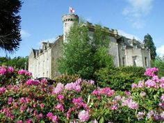Tulloch Castle  Dingwall, Scotland.