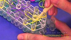 How To: Make the Rainbow Loom Starburst Bracelet!