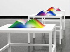 RGB Colorspace Atlas by artist Tauba Auerbach