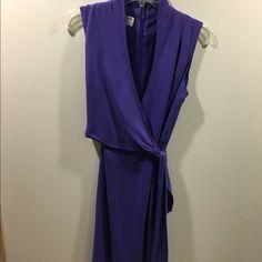 Never worn size 6 Jones of New York dress Sleeveless purple size 6 dress Jones New York Dresses Mini