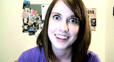Overly Attached Girlfriend turns her Internet fame into real success.  Watch her ad for Samsung.