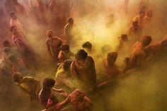 Seis lugares para celebrar el festival de Holi en la India.