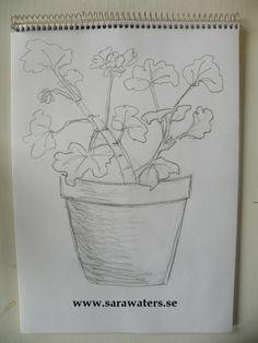Flower pot I /Sara Waters