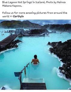 Blur lagoon hot springs Iceland