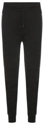 Hugo Boss Dortese Cotton Moto Sweat Pants M Black Mens Athletic Pants, Sweat Pants, Hugo Boss, Cool Designs, Just For You, Stylish, Jeans, Sports, Cotton