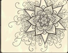 Mandala Designs: I love the small details.