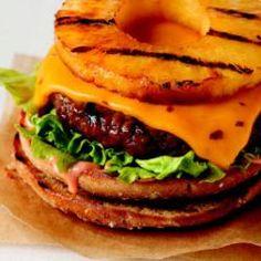 Hawaiian Luau Cheeseburger