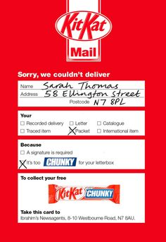 DIRECT MAIL    Chunky Mail