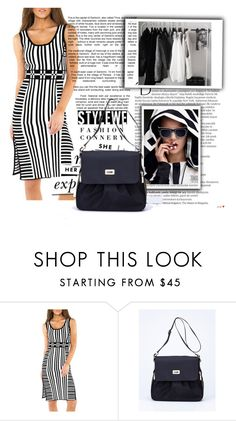 """""""Stylewe 6"""" by difen ❤ liked on Polyvore featuring Balmain, Kate Spade and Gucci"""