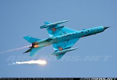 Aviation Photo Mikoyan-Gurevich Lancer A - Romania - Air Force Military Jets, Military Aircraft, Mig 21, Romania, Airplane, Air Force, Fighter Jets, Aviation, Eastern Europe