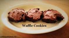 This is hands down the best recipe for waffle cookies!