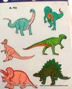 Vintage Dinosaur Decal