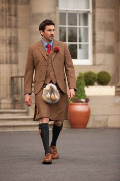 Bespoke Tweed Kilt Outfit - All - Outfits