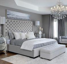 Modern Bedroom Carpet Ideas - Future Home - Bedroom Decor Grey Bedroom Design, Simple Bedroom Design, Bedroom Designs, Bedroom Ideas Grey, Modern Grey Bedroom, Grey Bedroom Furniture, Bedroom Colors, Contemporary Bedroom, Classy Bedroom Ideas