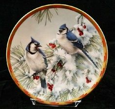 Lenox Nature's Collage: Winter Song - Artist: Catherine McClung