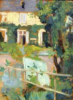"""  Pierre Bonnard - House """