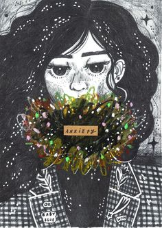 anxiety portraits series x kathrin honesta...