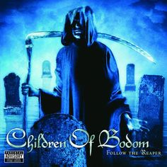 Children Of Bodom - Taste Of My Scythe [Melodic Death Metal] Nu Metal, Black Metal, Death Metal, Alexi Laiho, Children Of Bodom, Rock And Roll Bands, Rock Bands, Power Metal, Band Photos