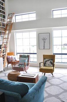 loft apartment living room