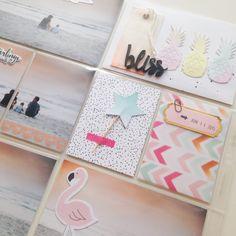 Details PL-Seite mit Pinkfresh Studio July Kit & Dear Lizzy Fine and Dandy - von Ulrike Dold