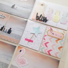 Details PL-Seite mit Pinkfresh Studio July Kit & Dear Lizzy Fine and Dandy - von Ulrike Dold
