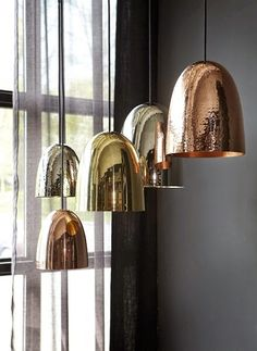 New collection of city lights from Norwegian Slettvoll, I personally prefer silver and copper over gold and love the naked Edison . Valentines Day For Him, Stockholm, Vintage Lighting, City Lights, Interior Design Inspiration, Most Beautiful Pictures, Design Elements, Furniture Design, Photo And Video