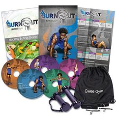Burnout by Gwee Gym High Intensity Fitness Program based on HIIT and RIPT Complete System Includes Gwee Gym Pro Workout DVDs Healthy Eating Guide and More Weight Loss and Resistance Training ** You can get more details by clicking on the image. Workout Dvds, Workout Machines, Workout Videos, Exercise Machine, Training Classes, Gym Training, Gym Resistance Bands, Diet Plans That Work, Healthy Eating Guide