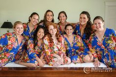 lovely bridesmaids and bride ♥ #rickbouthiettephotography The Mountain View Grand Resort and Hotel | Whitefield New Hampshire #nhweddingphotography #bostonweddingphotography #ctweddingphotography #nyweddingphotography  #elegantwedding #bridesmaidsrobes