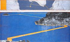 5   Walk On Water With Christo's Tremendous New Art Installation   Co.Design   business + design
