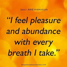 Abundance and Prosperity affirmation for continuous and non-stop abundance.