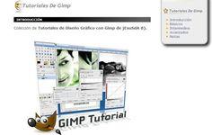 Colección de tutoriales en español para aprender el uso de GIMP
