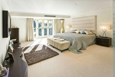 I love how big this room is. The big windows make the room so bright, and the bed is AWESOME!