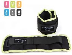 RitFit Ankle / Wrist Weights (1 Pair) - Apple Green-1.5lbs Pair