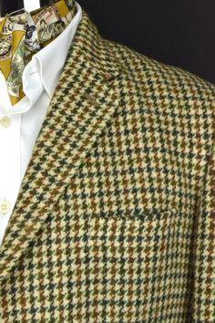 "Dunn & Co 3 Button Harris Tweed Jacket 42"" Long | eBay"