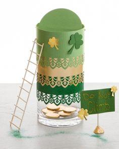 Make a Leprachaun Trap with Martha Stewart Crafts! #marthastewartcrafts #leprechauntrap #marthastewart