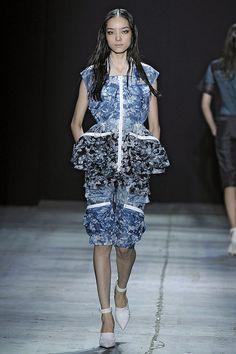 Alexander Wang blue floral print mix