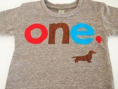 Dog Birthday shirt Customize colors red brown and blue Organic blend tshirt. $33.00, via Etsy.
