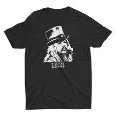 Leon Russell T Shirt Hand screen-printed Men's / Ladies / Fitted / Bob Dylan / Blues / Jazz / Buy any two shirts get one free! by cottonpickincrazy on Etsy Willie Nelson T Shirts, Leon Russell, Great T Shirts, Bob Dylan, Green And Orange, Get One, Jazz, Classic T Shirts, Long Sleeve Tees
