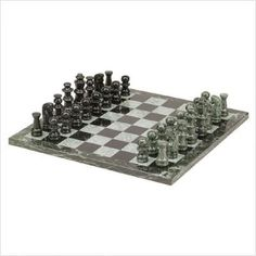 CHH Imports 16 Inch Marble Chess Set by CHH ** Details can be found by clicking on the image.