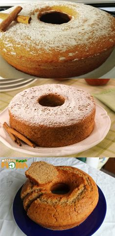Food Cakes, Best Food Ever, Portuguese Recipes, Sweet Life, Cheesecakes, Bagel, Doughnut, Mousse, Amsterdam Cafe