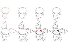 How to Draw Any Pokemon | You can find the original tutorial here: How to Draw Pichu .