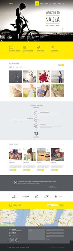 Nadea – Multipurpose PSD Template  Standardization for a new editorial concept, wardrobing? Top ten?